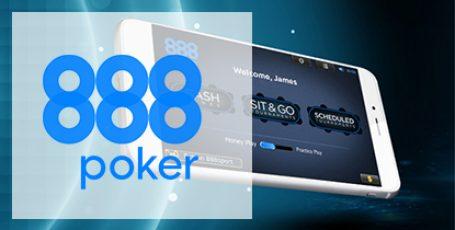Возьми любимый покер с собой — мобильное приложение от 888 Poker